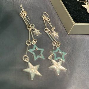 Nordstrom Silver dangle star 🌟 earrings